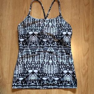 Lululemon power Y tank , size 6